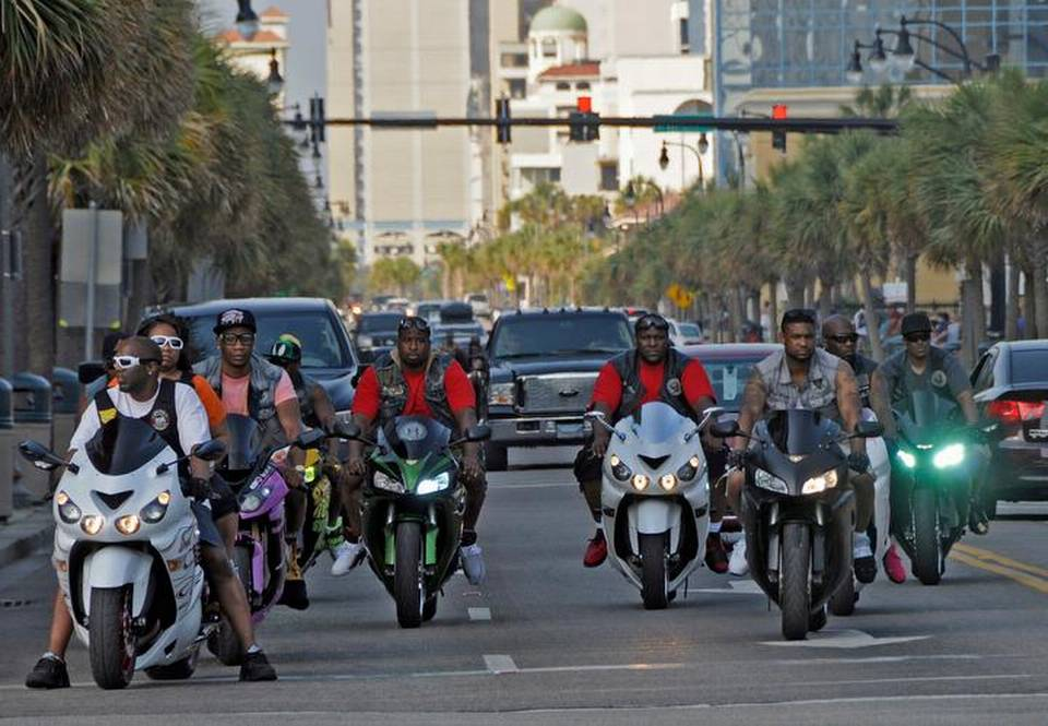 Bikers take over Myrtle Beach during Bikefest. (Photo courtesy of the Sun News).