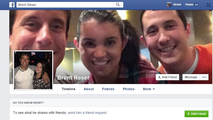 Here is my fake profile that exists on Facebook.