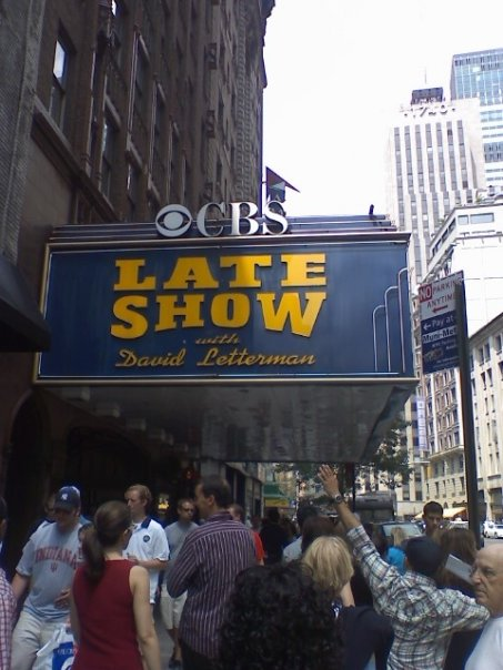 A picture I took outside of the Ed Sullivan Theater during a trip to New York in 2008.