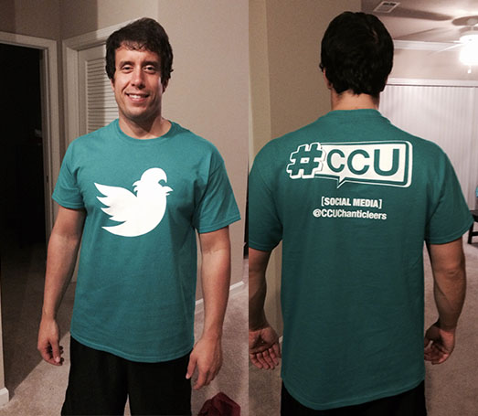 I think our newest #CCUSocialMedia t-shirts turned out great.
