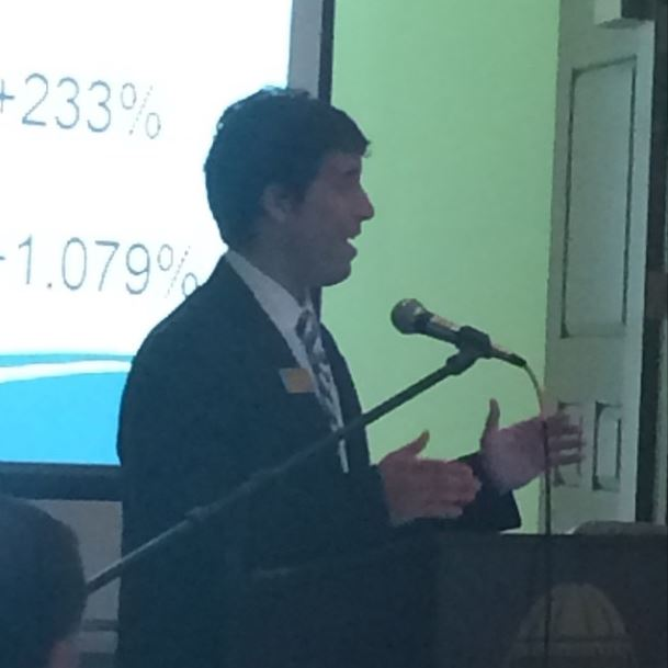 This was me speaking this morning at the Board of Trustees meeting at Coastal Carolina University.