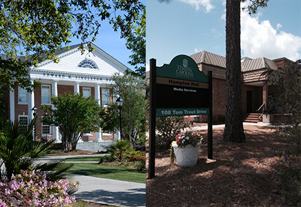 I will be moving from Singleton Hall (left) to Hampton Hall (right).