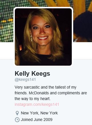 Kelly Keegs recently became a very famous Twitter user.