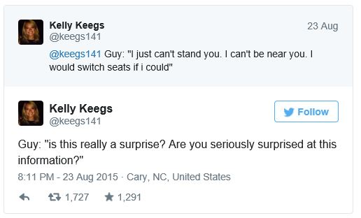 Just a little sample of Kelly's play-by-play tweets.