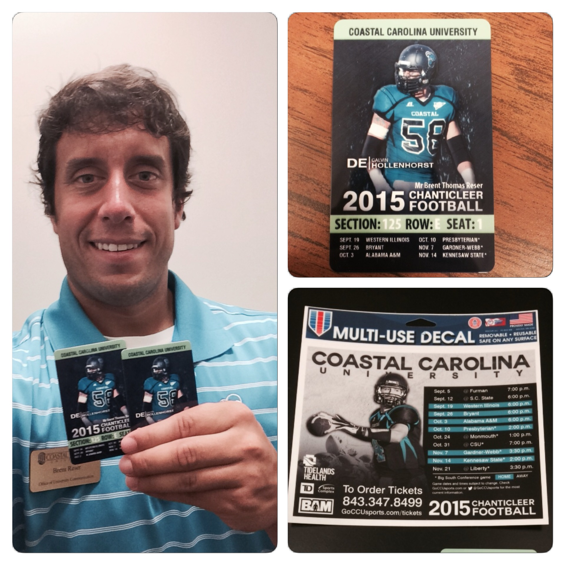 It is so convenient having your season tickets loaded onto a card.