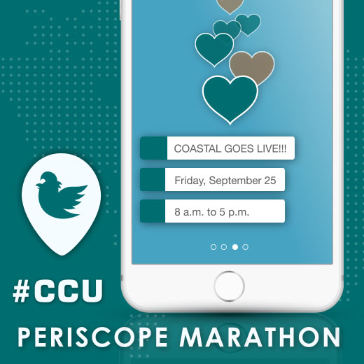 Our #CCU Periscope Marathon is a first of its kind.