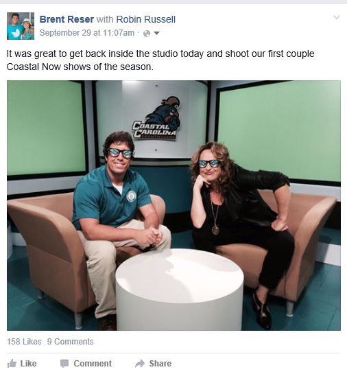 Thanks to Robin, this Facebook post received 159 likes.