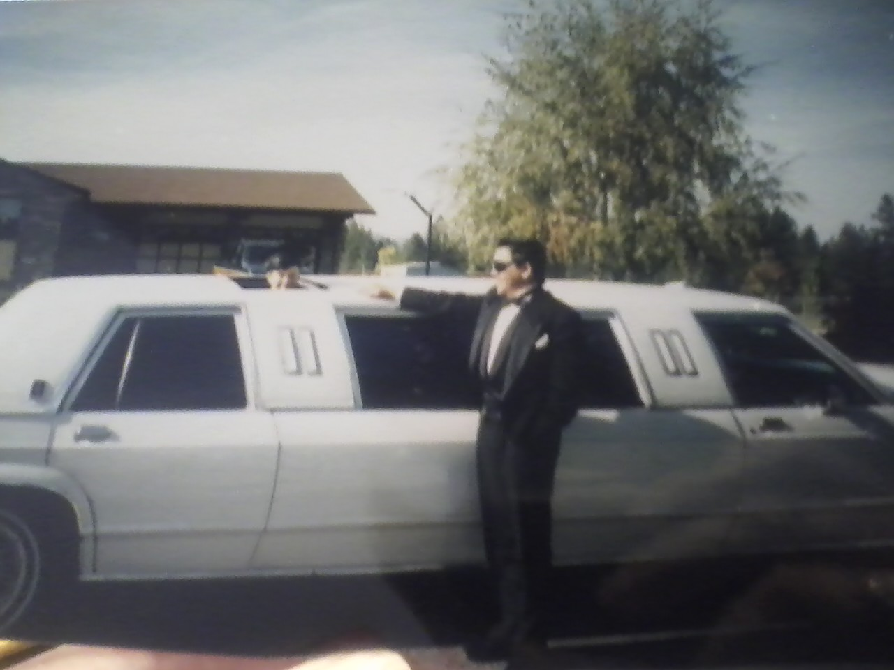 Major throwback to when I had a limo at my birthday party. In this photo I am wearing the hate of the limousine driver.