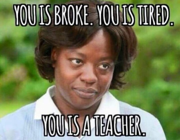 This is Sidney's favorite teaching meme. It makes her laugh quite a bit.