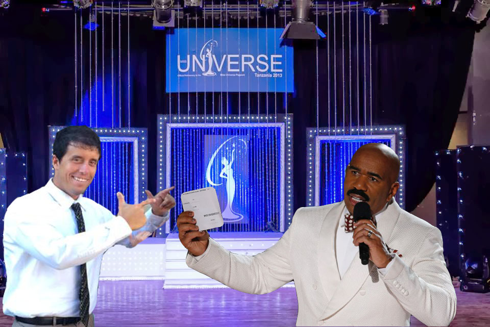 I feel like I need to give my take on the Steve Harvey snafu.