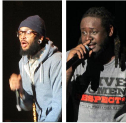 Photos I took of Travie McCoy and T-Pain three years ago in Missoula...I was not impressed.