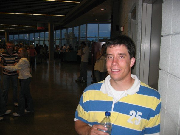 This is me in 2007 in the Spokane Arena concourse between sets of my first ever concert.