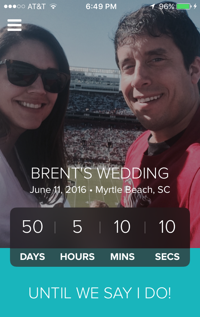 We are 50 days away from the big date!