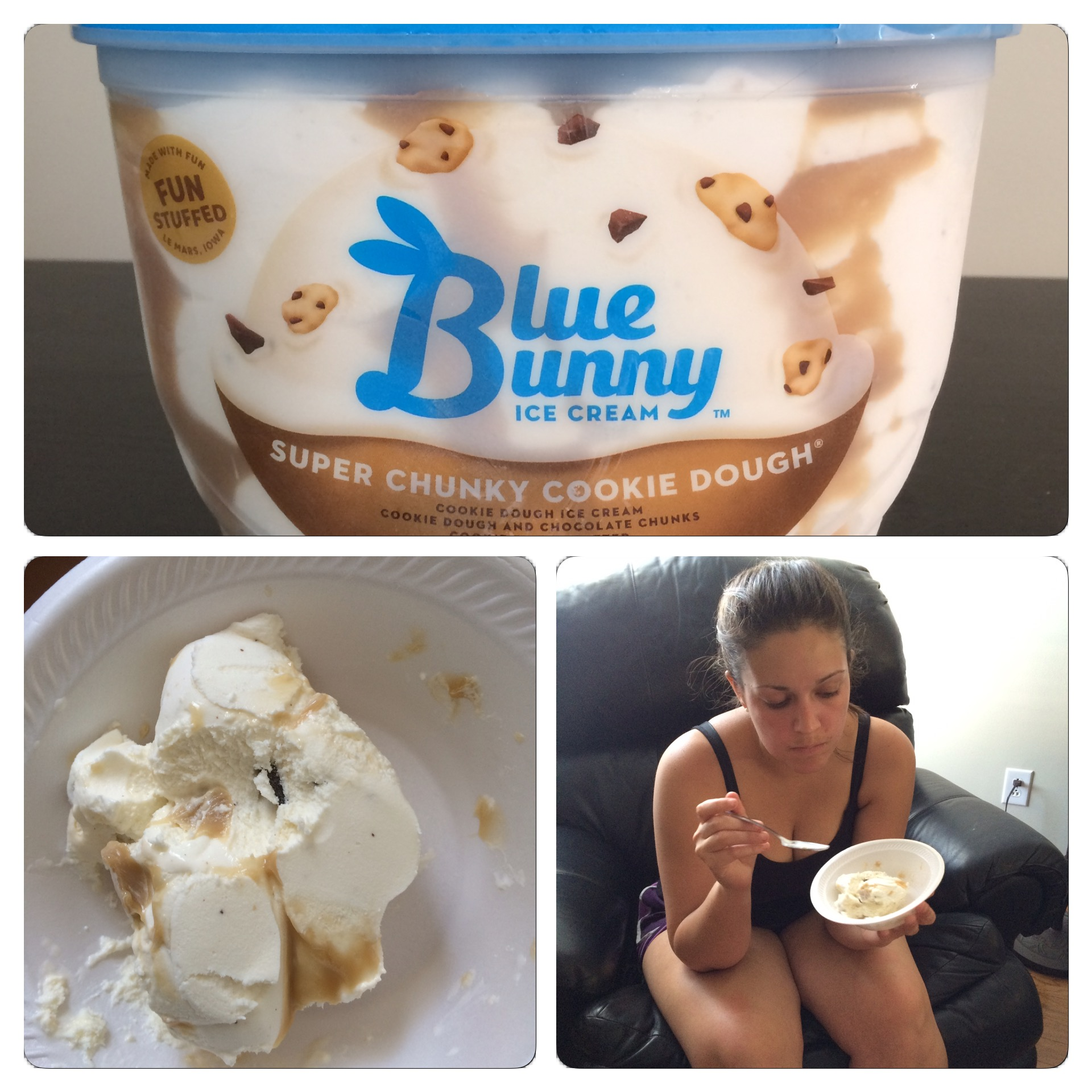 In the middle of the pack was ice cream powerhouse Blue Bunny.