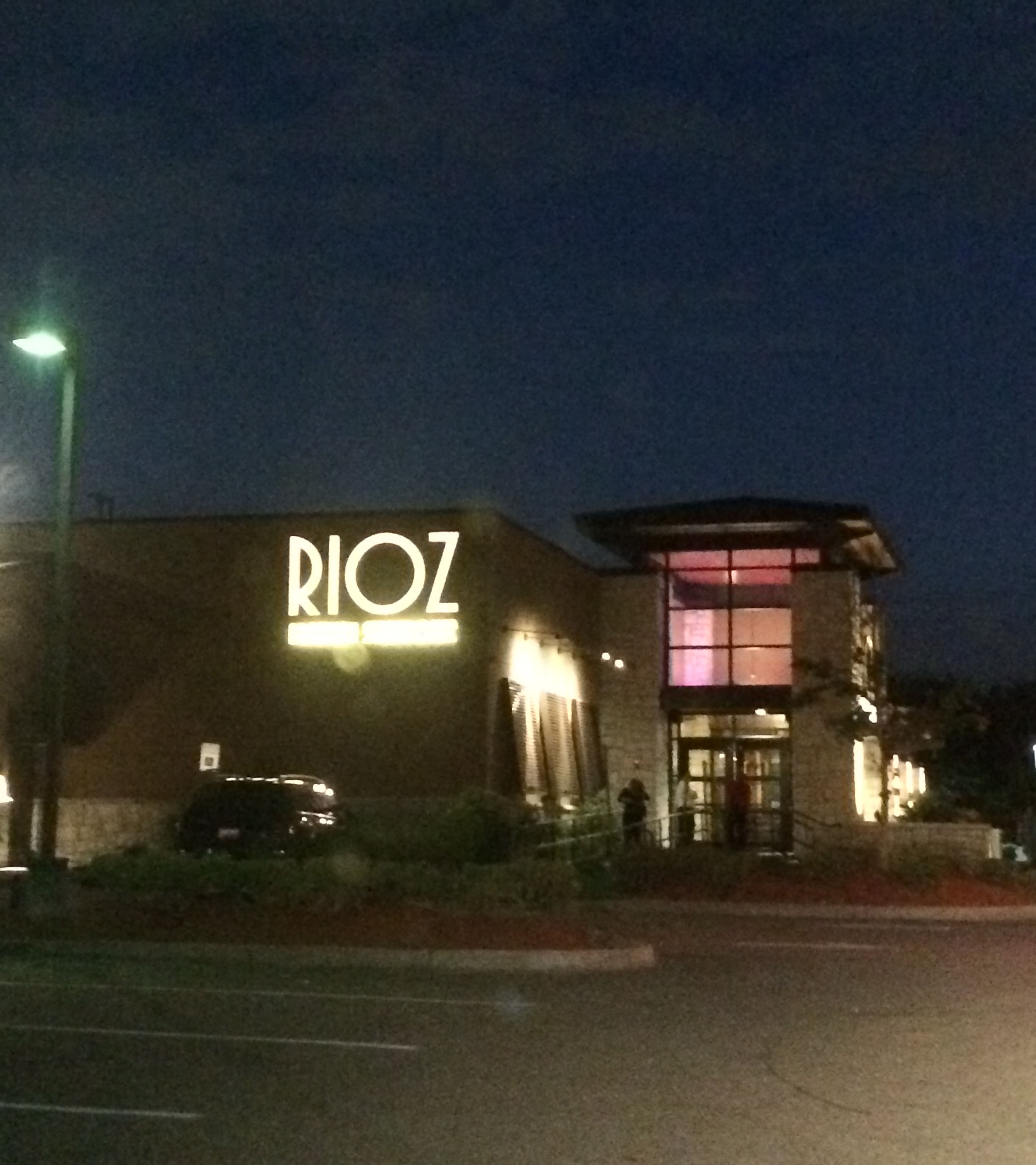 This is what Rioz looks like from the outside.