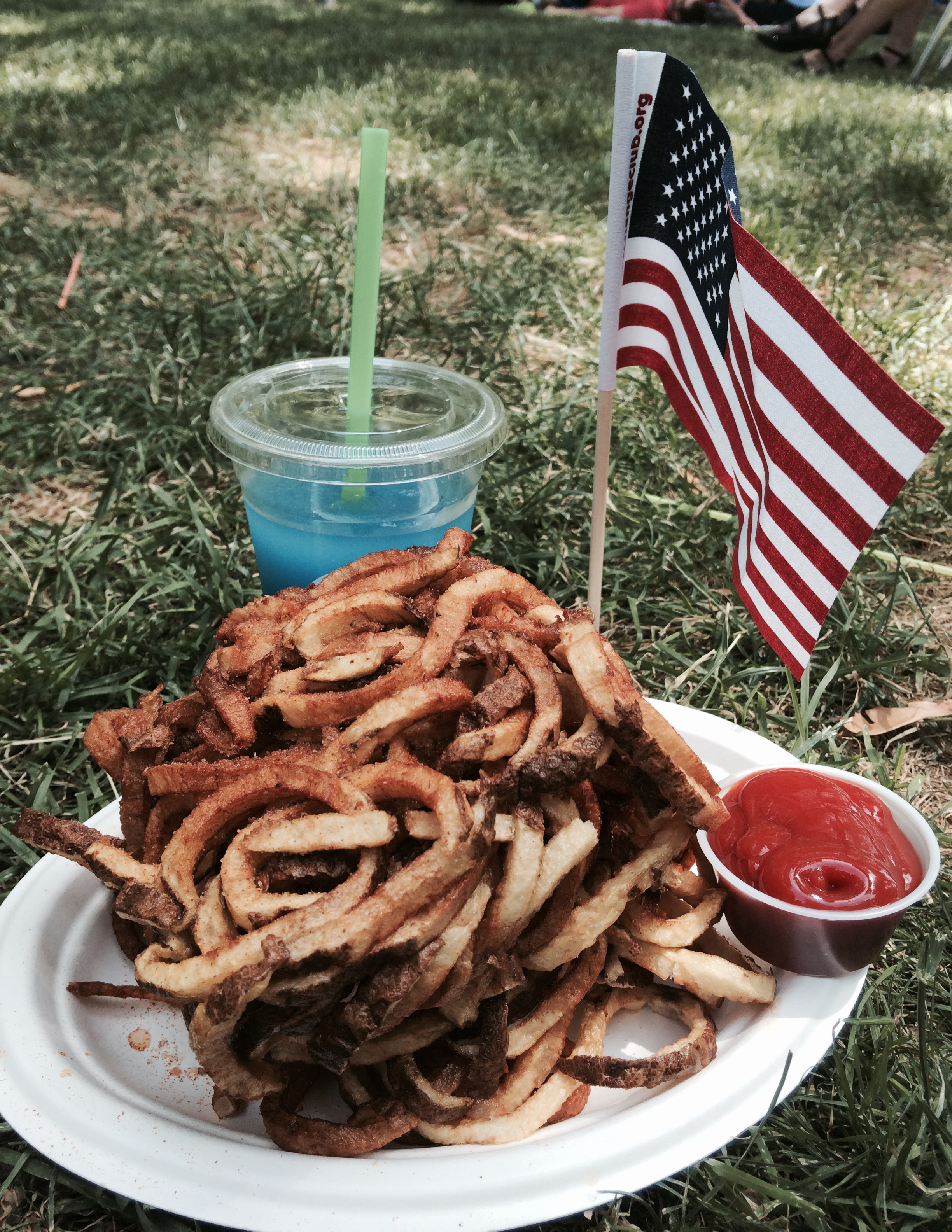 Although not in my top five, I do enjoy curly fries. Sidney and I enjoyed these during the Fourth of July in Walla Walla at Pioneer Park.