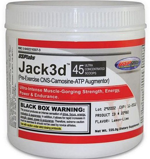 Jack3D was one very powerful supplement.