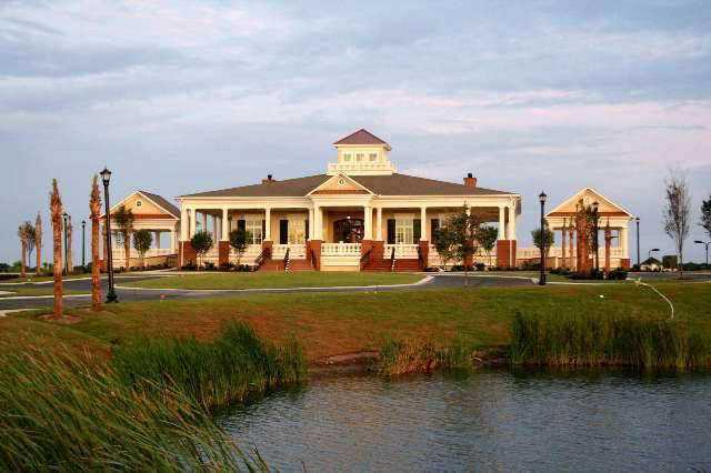 This is the Waterway Palms Plantation clubhouse, the place where we had our wedding reception at.