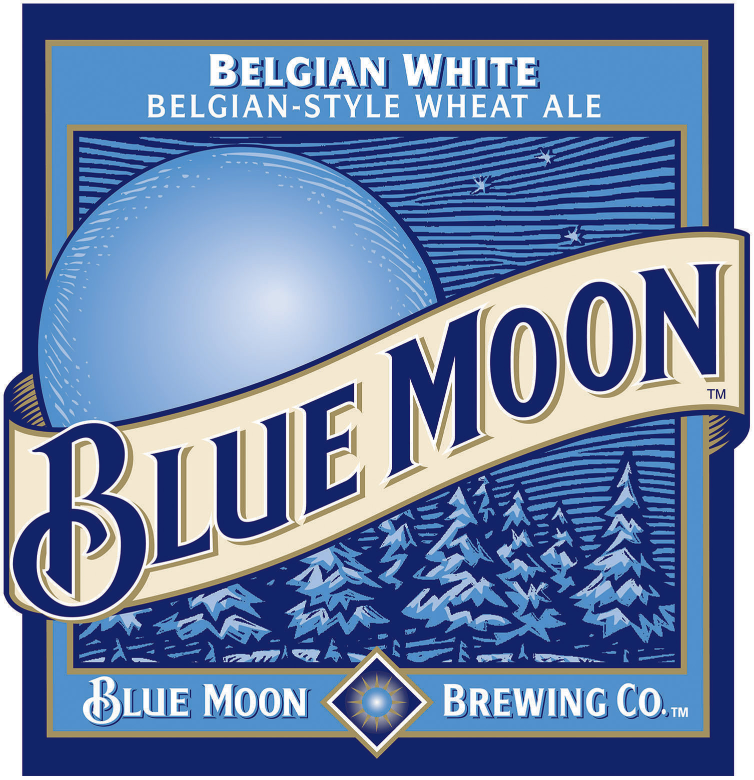 The Blue Moon aesthetics go beyond just the logo. The packaging is also very well-done and inviting.