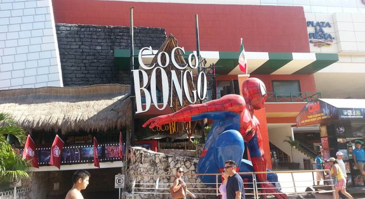 This is Coco Bongo from the outside (photo credit to http://totaltravelblog.co.uk).