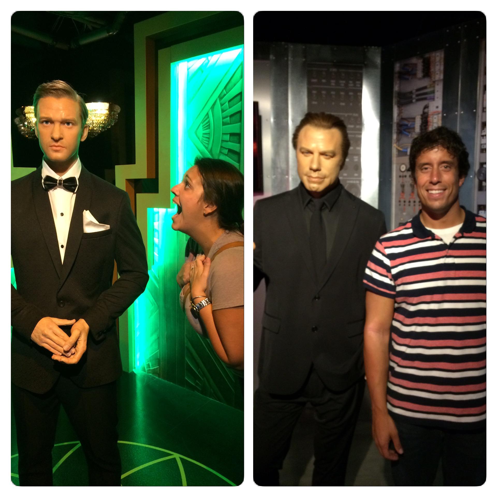 Sidney liked Justin Timberlake and I liked John Travolta.