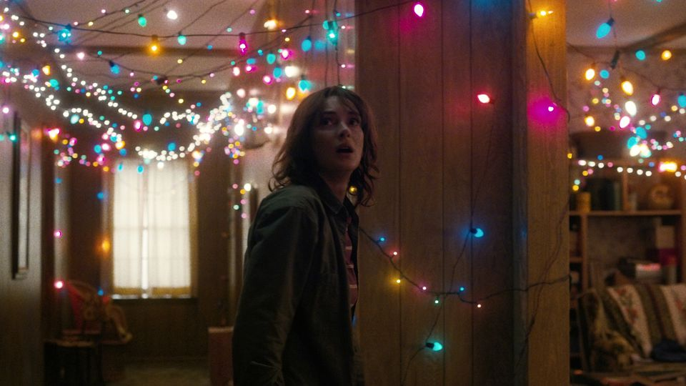 "I really enjoyed watching ""Stranger Things."""