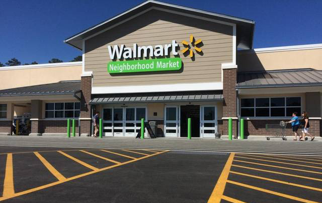 This is one of the Walmart Neighborhood Markets in Myrtle Beach (photo courtesy of the Sun News).