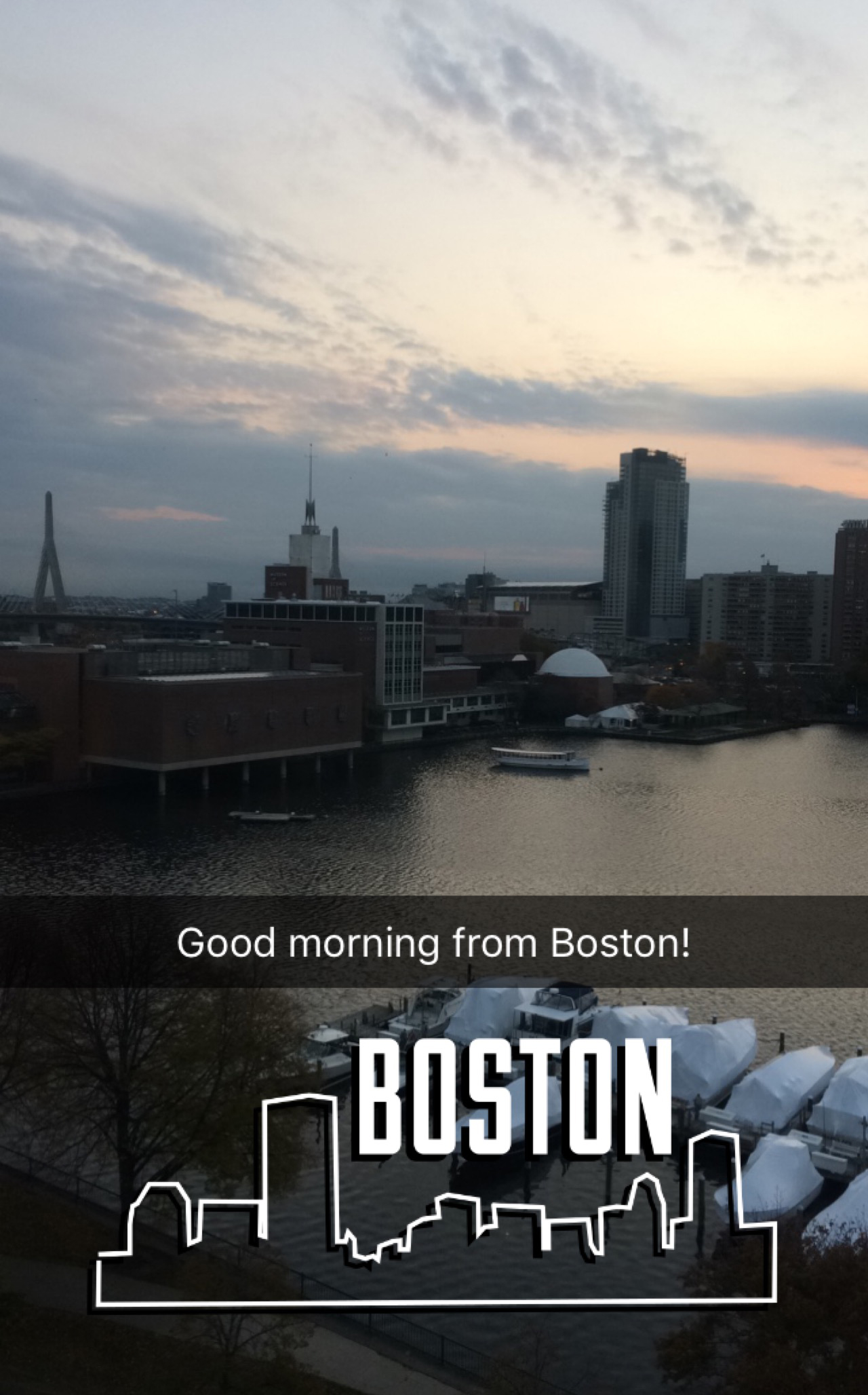 I am in Boston for the Higher Education Social Media Strategies Summit. I had to include the Snapchat geofilter.