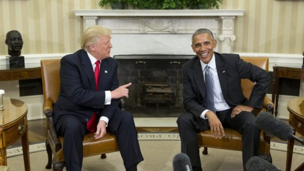 I thought the meeting between Trump and Obama today was pretty inspiring.