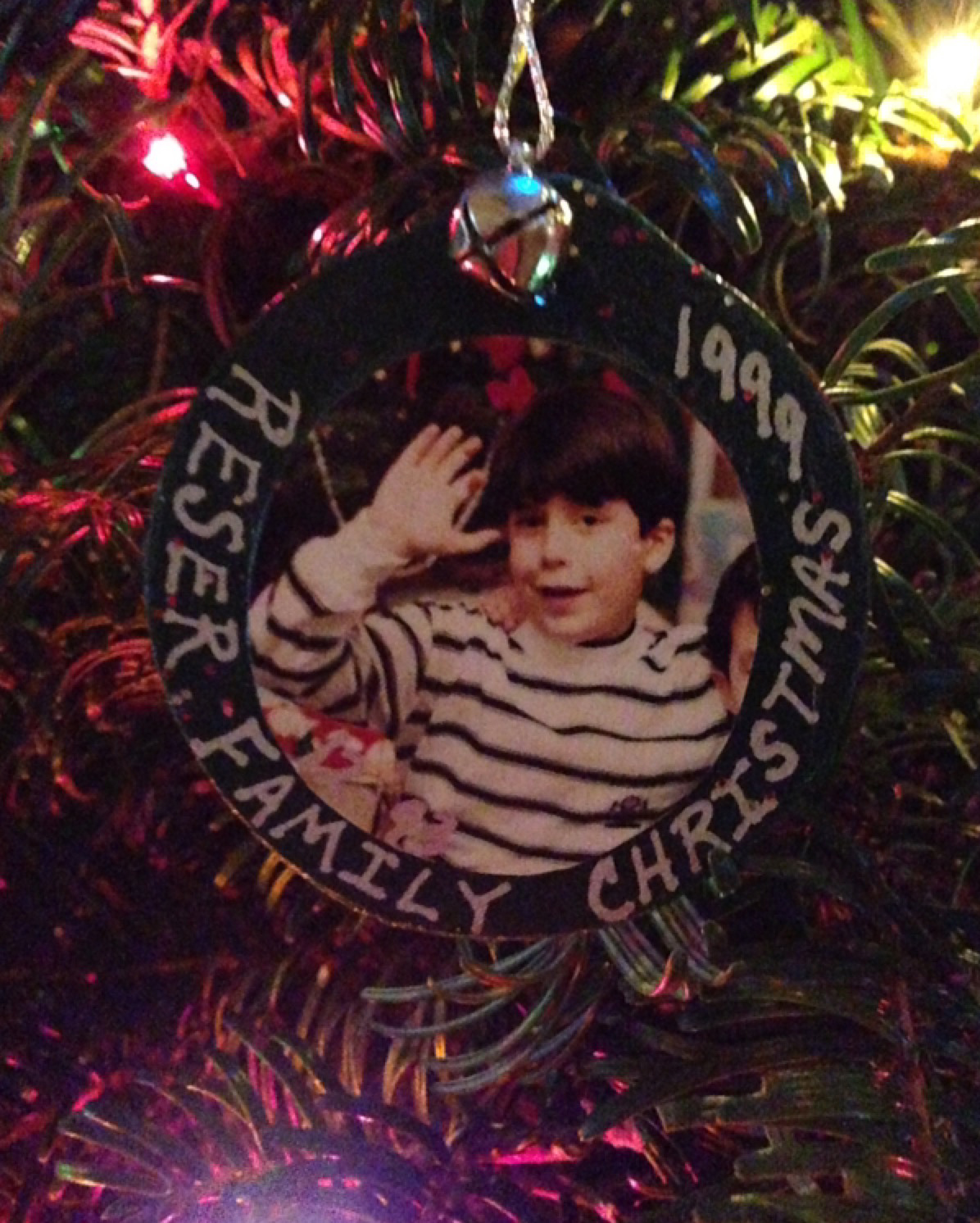 This ornament hangs at my parents' house in Spokane.