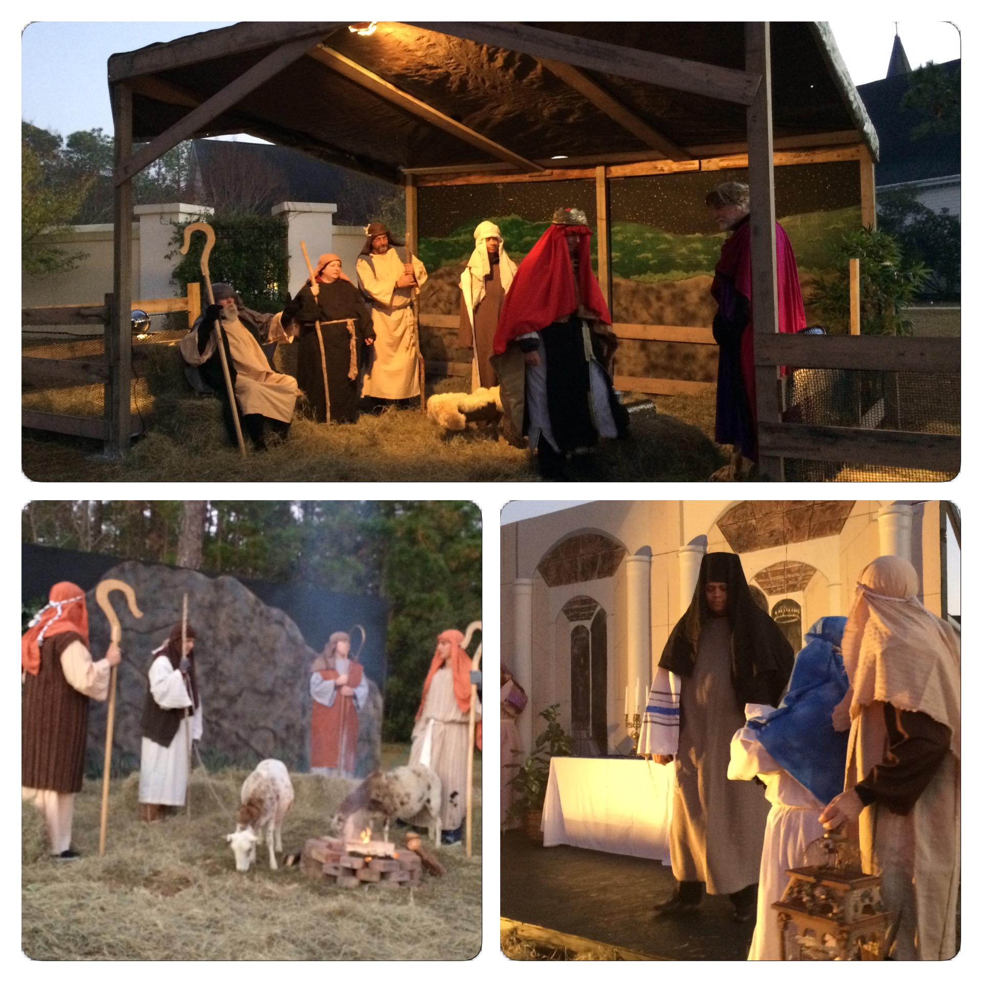 "A look at some of the scenes we saw at ""Return to Bethlehem,"" a Drive-Thru Nativity put on by the Church of the Resurrection in Surfside Beach.."