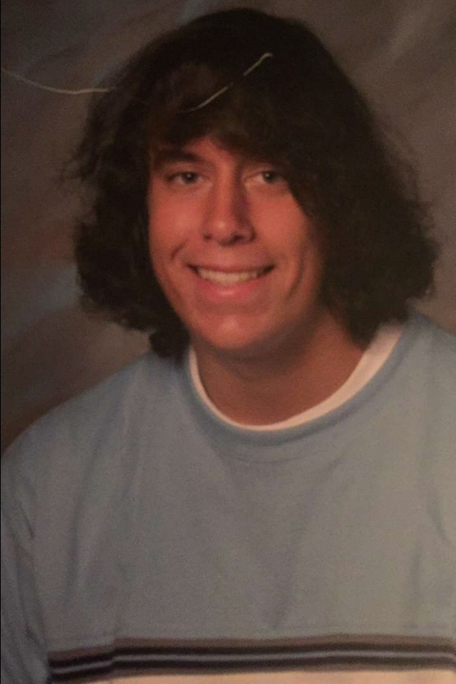 This was my junior year high school photo.