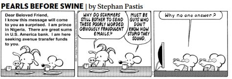 This Pearls Before Swine comic strip made me laugh.